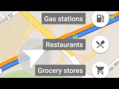 Make quick pit stops along your route, right in navigation