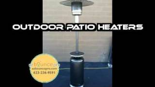 Outdoor Propane Patio Heater Rentals - Umbrella Heaters For