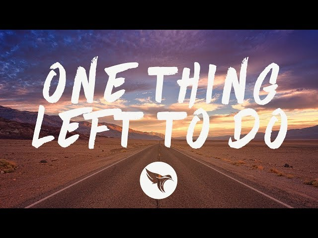 Deepend - One Thing Left To Do (Lyrics) feat. Hanne Mjøen