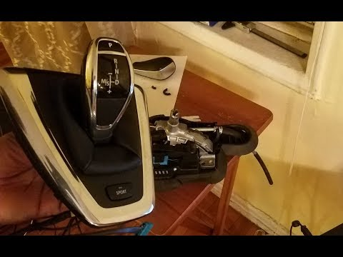 Cutting BMW Steptronic Stalk for DCT LED Shifter Retrofit DIY
