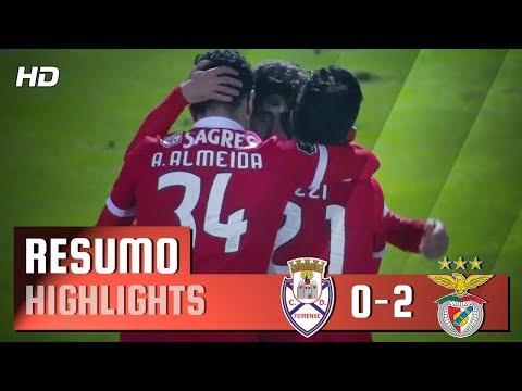 Resumo: Feirense 0-2 Benfica (Liga 27ªJ)
