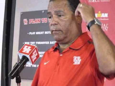 """Kelvin Sampson: """"we have 10 guys I feel comfortable putting in a basketball game"""""""