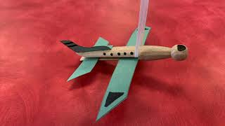 Make Your Own Peg Airplane: Family Literacy Day 2021
