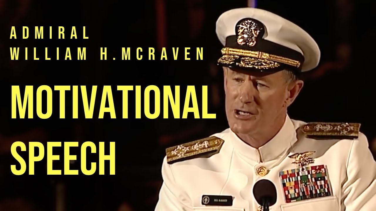 Admiral mcraven commencement speech