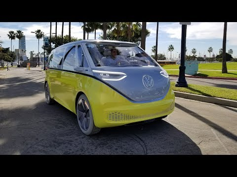 Volkswagen ID Buzz drive--THE FUTURE OF VW