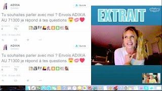 Adixia (LMSA): Polémique SMS surtaxés?! Elle se justifie et réagit!