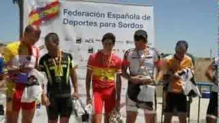 Campeonato de España de Ciclismo en ruta para Sordos 2012.