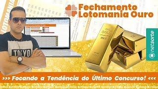 ☘Fechamento Lotomania Ouro - Focando a tendência dos milhões e acertando 20 pontos.