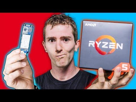 We Ran INTEL Optane on an AMD CPU!!