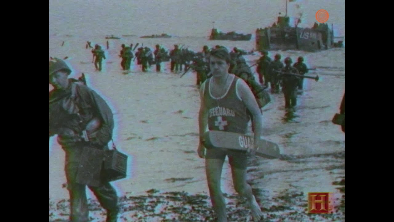 Powerful: These Veterans Recount The Heroics Of The One Lifeguard Who Was  On Duty During D-Day