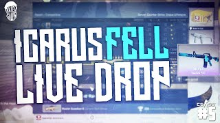 ICARUS FELL LIVE DROP! (Counter Strike: Global Offensive #5)