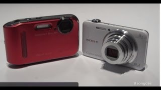 CES 2013_ New Cyber-shot WX80 and TF1 Cameras (First Look & Demo)
