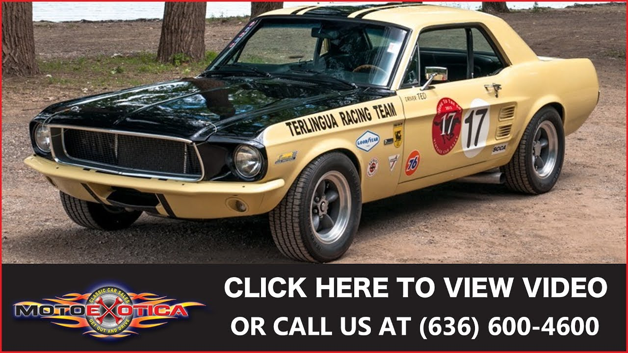 1967 ford mustang terlingua racing tribute sold