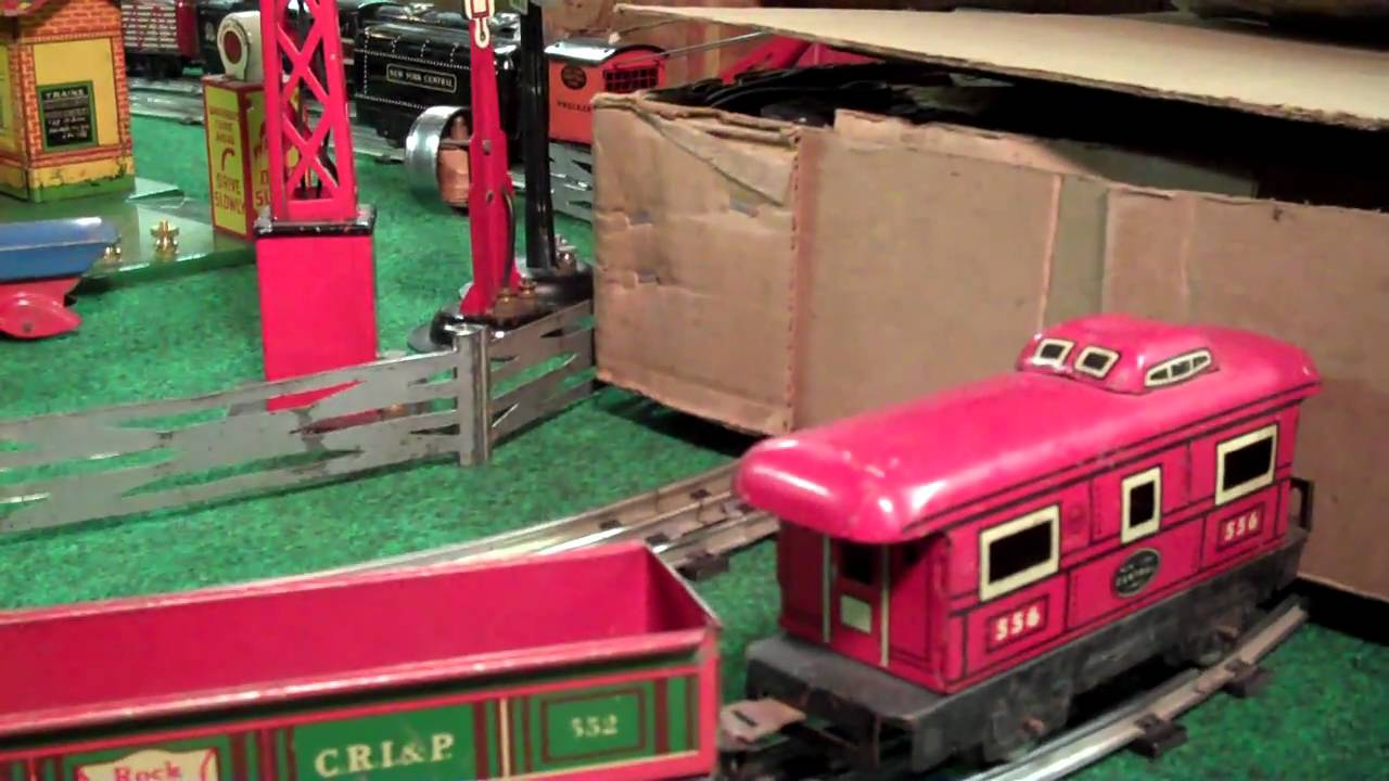 Marx Night at Dave's Part 3 CP Locomotives & Coal Trains