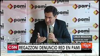 C5N – PAMI: conferencia de Regazzoni tras la investigación por venta de medicamentos