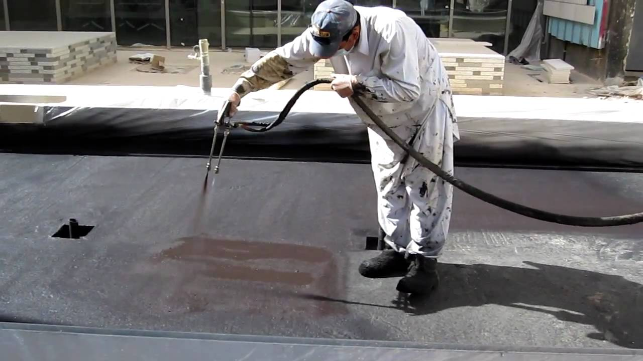 Liquid Rubber Waterproofing K S A Youtube