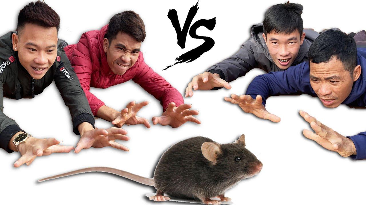 PHD | Đội Nào Bắt Được Nhiều Chuột Nhất Nhận 1000$ | Rat Trap Win 1000$