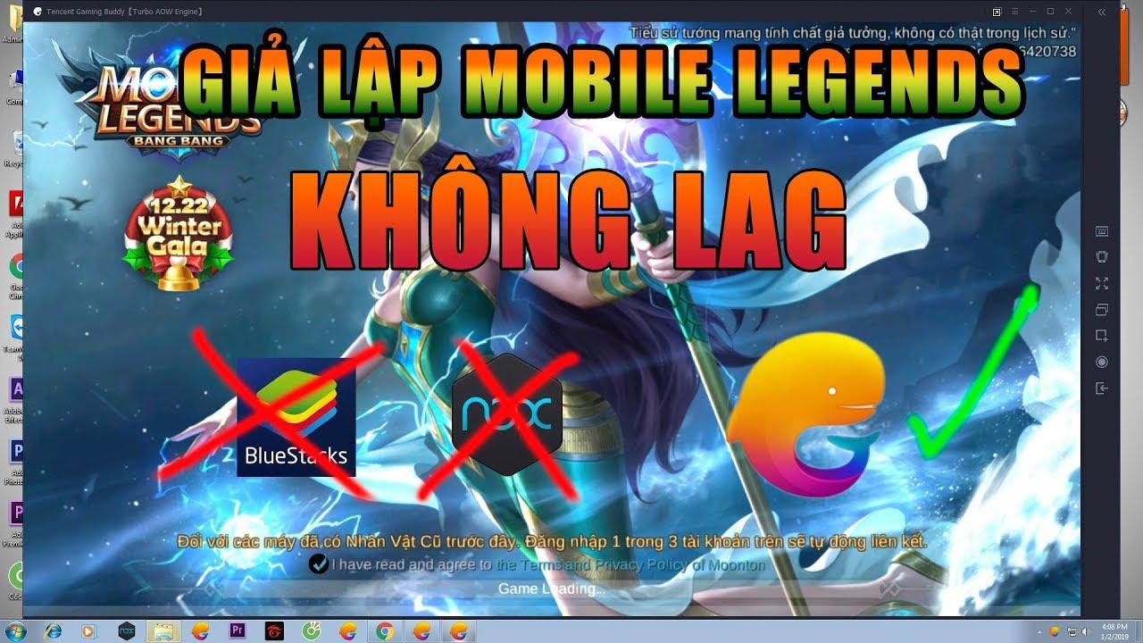 hướng dẫn giả lập mobile legends: bang bang trên pc cực