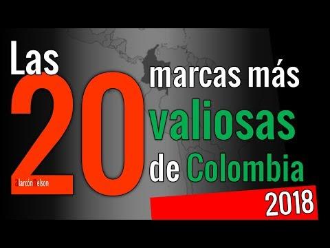 Las 20 marcas más valiosas de Colombia en 2018