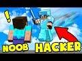 Diferencias: NOOB vs HACKER!!   Minecraft   Skaywars