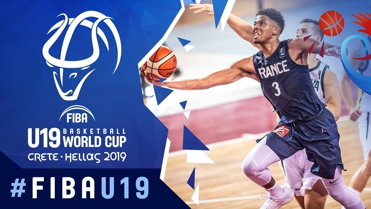 Lithuania v France - Full Game - FIBA U19 Basketball World Cup 2019