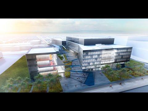 Le futur campus MIL de l'Université de Montréal