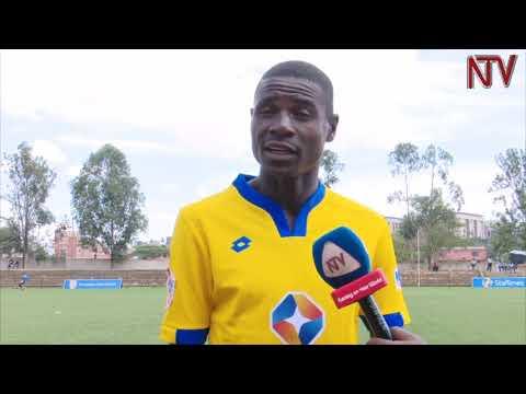 PATRICK KADDU: The KCCA forward who's goal sent cranes to AFCON 2019