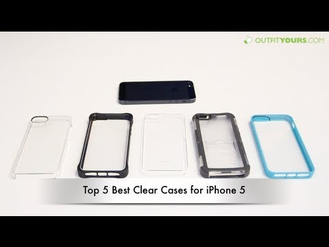 on sale 2ddab d7197 Top 5 Best Clear iPhone 5S and iPhone 5 Cases - Incase, Otterbox, Griffin,  Moshi ..