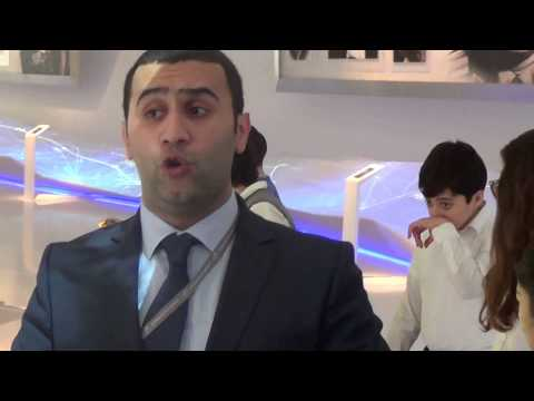The fragment of the excursion to Heydar Aliyev Centre (part 1)