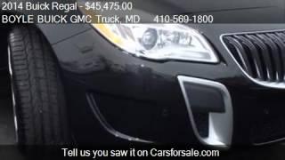2014 Buick Regal GS AWD 4dr Sedan for sale in ABINGDON, MD 2