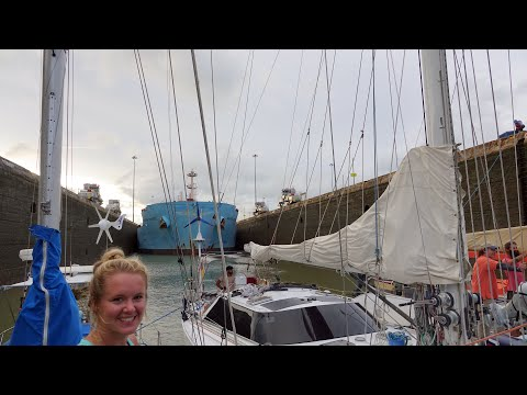 Crossing the Panama Canal on a Sailboat Ep. 39 Thula Sailing
