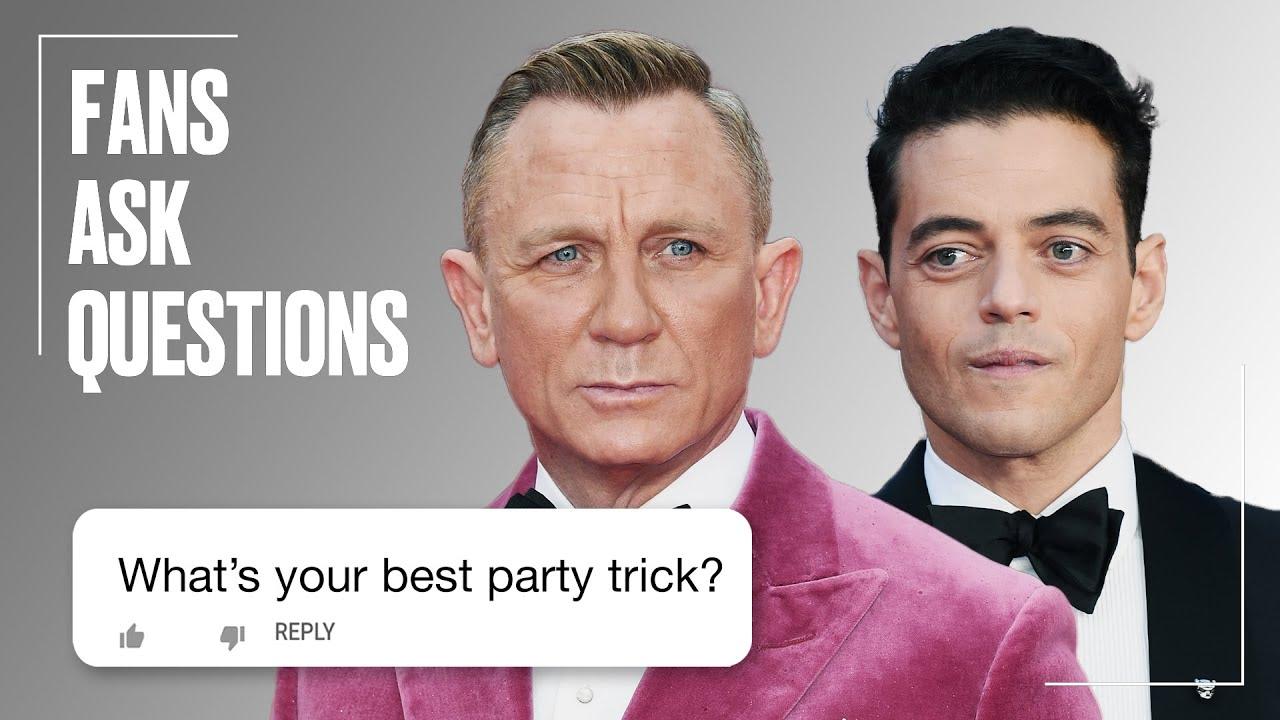 Daniel Craig Reveals His RUDE Party Trick | FAQs | @LADbible TV