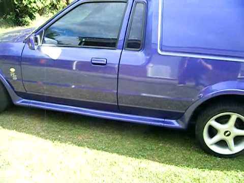 380f922222 rs turbo van for sale - YouTube