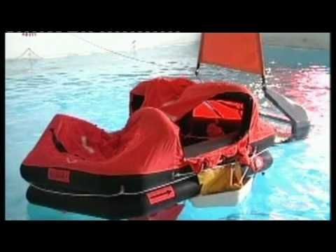 Holland Marine Hardware - Seasafe liferaft test