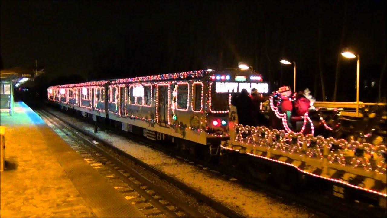 cta holiday train 2011 at dempster - Cta Christmas Train 2014