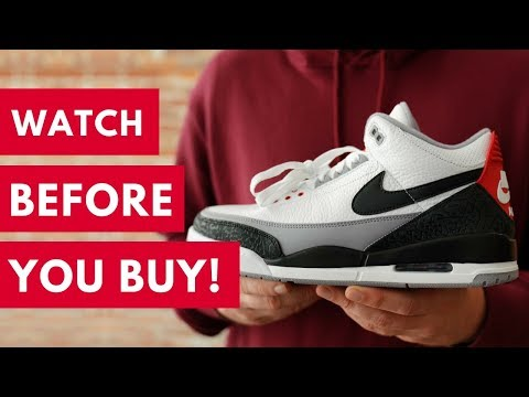 the best attitude 08120 473b6 DON'T BUY THE AIR JORDAN 3 TINKER WITHOUT WATCHING THIS ...
