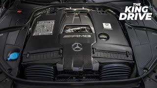 Самый мощный, 4-х цилиндровый мотор в мире Mercedes AMG M139