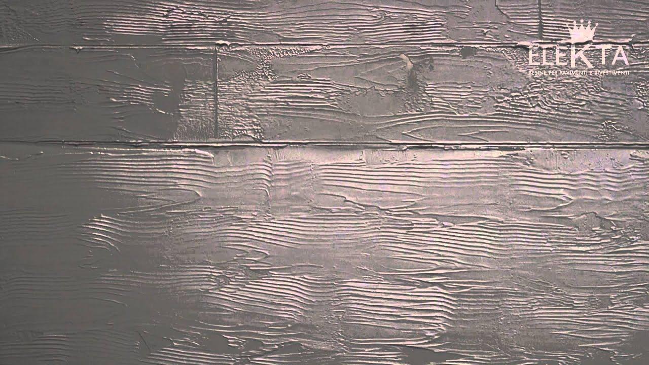 Pittura Per Cemento Esterno : Finitura materia cemento armato resina elekta youtube
