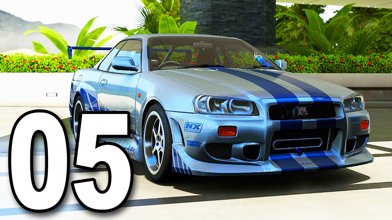 forza 6 part 5 fast and furious nissan skyline gtr r34 let 39 s play walkthrough gameplay. Black Bedroom Furniture Sets. Home Design Ideas