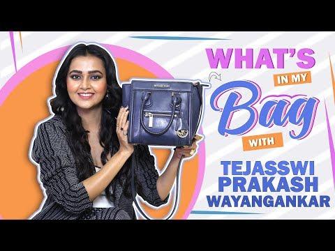 What's In My Bag With Tejasswi Prakash Wayangankar | Bag Secrets Revealed