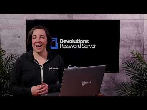 How to send secure messages in Devolutions Password Server