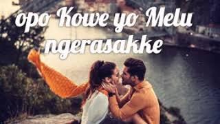 Status wa   lagu Jawa romantis