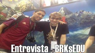 ENTREVISTA BRKsEDU NA BGS 2014