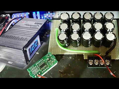 Como Hacer Un Capacitor Para Car Audio Youtube