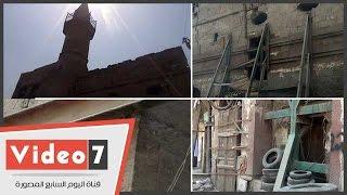 """""""عارف باشا """".. مسجد أثرى آيل للسقوط وينتظر الترميم منذ 20 سنة"""