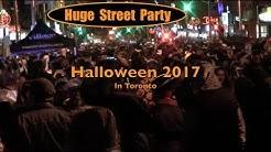 Halloween Street Party In Toronto 🌈 2017
