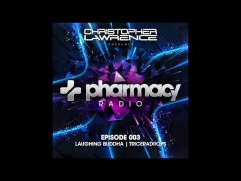 Pharmacy Radio #003 w/ guests Laughing Buddha & Triceradrops