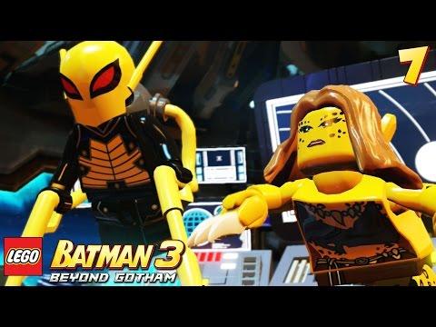 Lego Batman 3: Beyond Gotham - Walkthrough Part 7 - Firefly & Cheetah
