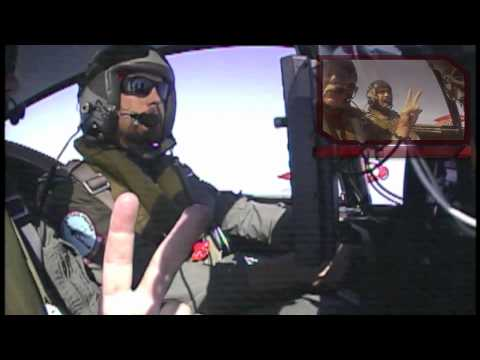 Nick and Brian - Fighter Pilots for a Day!