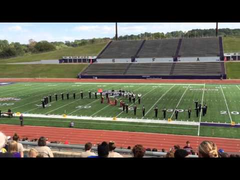 Chisum High School Area Marching Contest 2013